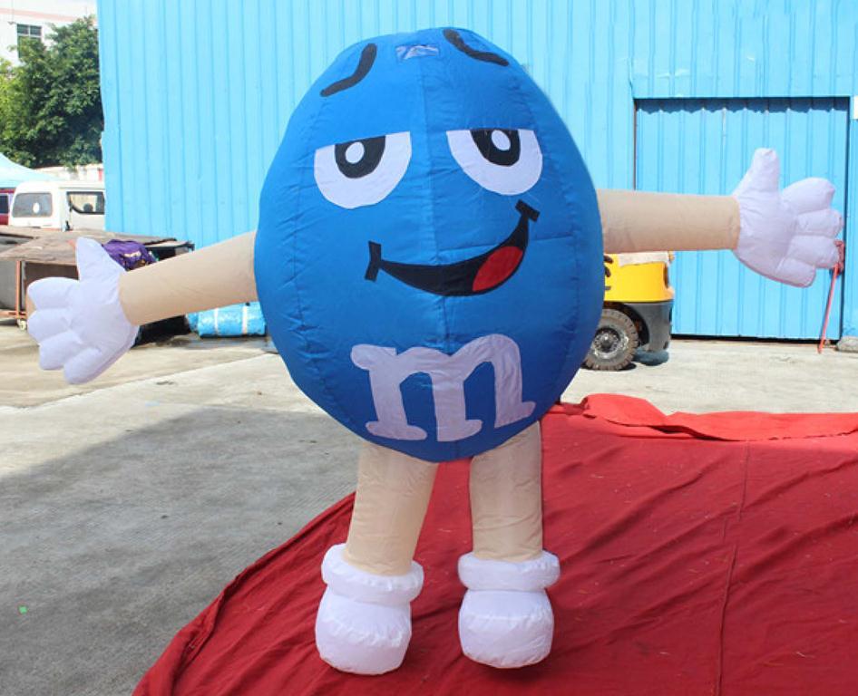 Blue M&MS-1