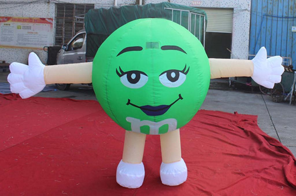 Green M&MS-1