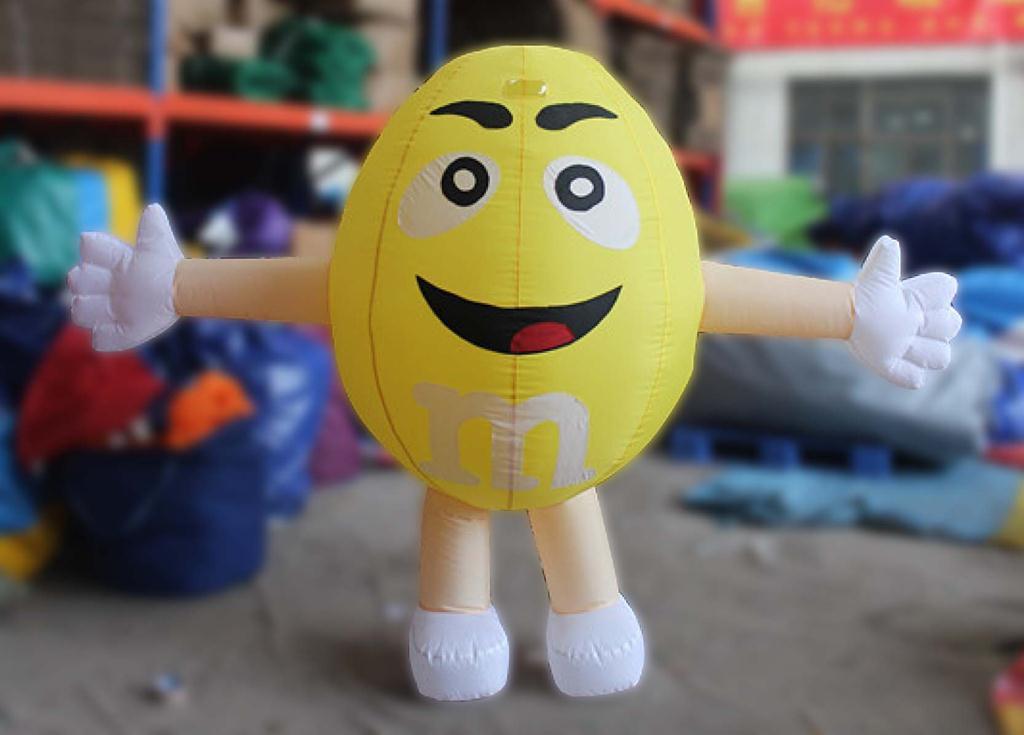 Yellow M&MS-2